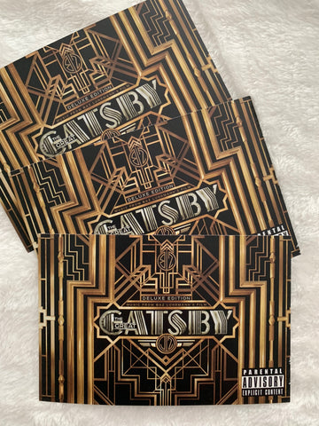 Gatsby 3 promotional postcards
