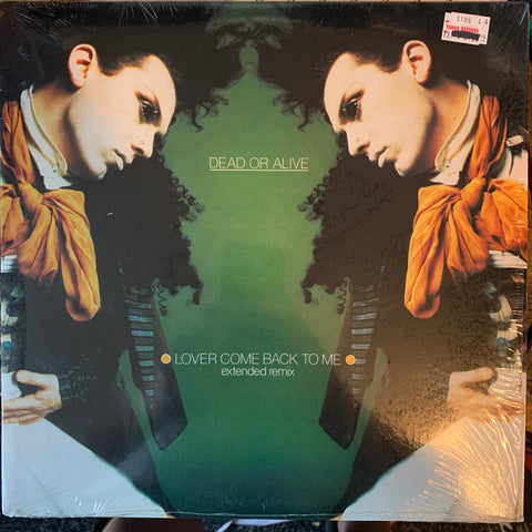 "Dead Or Alive - Lover Come Back To Me (80s 12"" remix Vinyl) used like new"