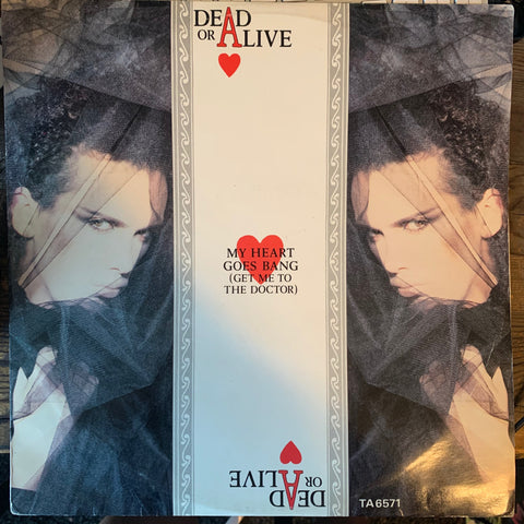 "Dead Or Alive - My Heart Goes Bang UK 12"" Remix LP Vinyl - Used"