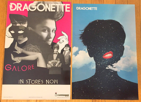 Dragonette - 2 promotional posters