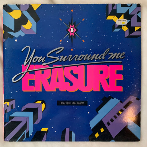 "Erasure - You Surround Me 12"" LP VINYL - used"