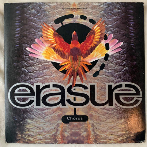 "Erasure - CHORUS (US 12"" LP VINYL) used"