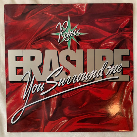 "Erasure - You Surround Me (Pt2) 12"" LP VINYL - used"