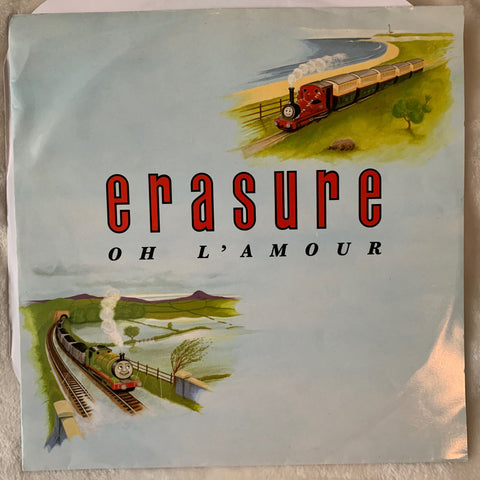 "Erasure - Oh L'Amour (UK 12"" Vinyl) LP - Used"