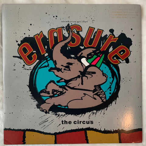 "Erasure - The Circus  (US 12"" LP PROMO VINYL) Used"