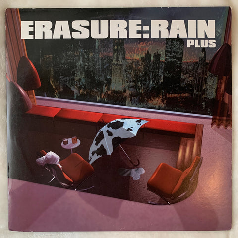 "Erasure - RAIN Plus EP 12"" LP VINYL - Used"