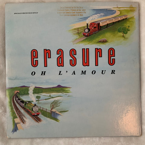 "Erasure - Oh L'Amour 12"" promo LP Vinyl - Used"