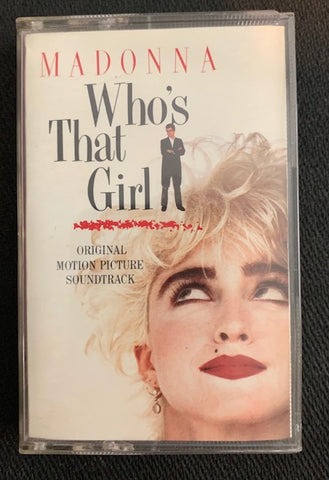 Madonna - Who's That Girl (Soundtrack) Audio Cassette - used