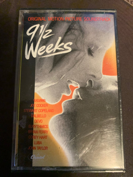 9 1/2 Weeks Soundtrack - Cassette - Used