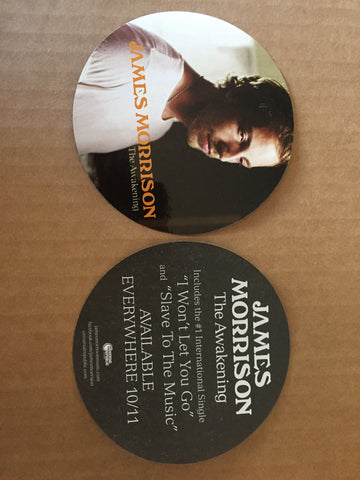 James Morrison - promo sticker (2)