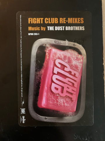 "Fight Club  Re-Mixes by The Dust Brothers - 12"" LP Vinyl - Used"