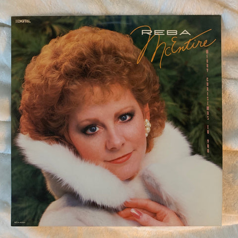 Reba McEntire - Merry Christmas To You 1987 LP Vinyl - Used