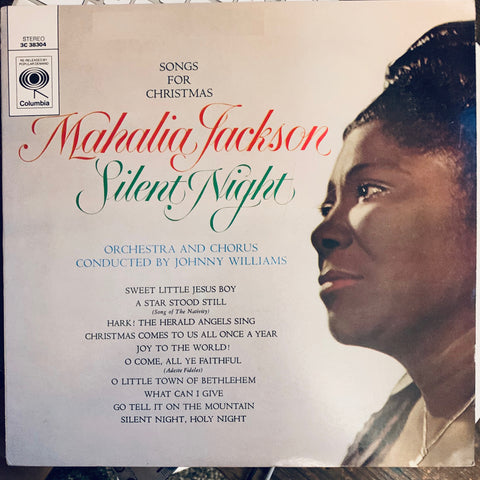 Mahalia Jackson - Songs For Christmas - Silent Night Used Vinyl