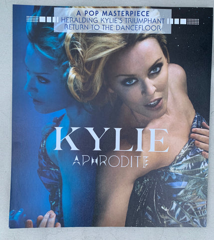 Kylie Minogue Promotional double sided Print / poster 11x12