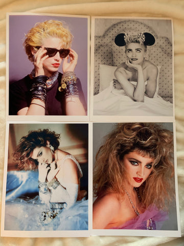 Madonna 4 High Quality Glossy Prints 8.5x11