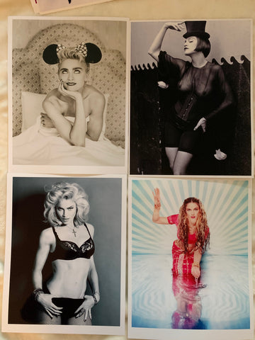 Madonna - 4 Glossy Photo prints 8x11