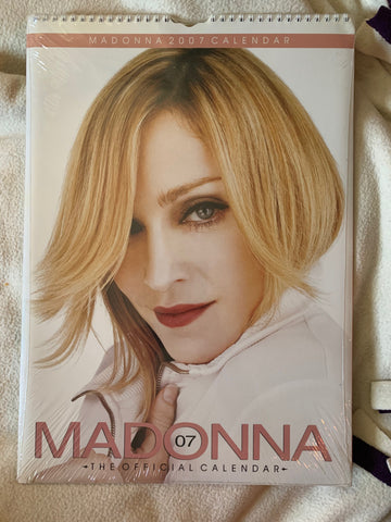 Madonna - Import Calendar 2007 New/sealed