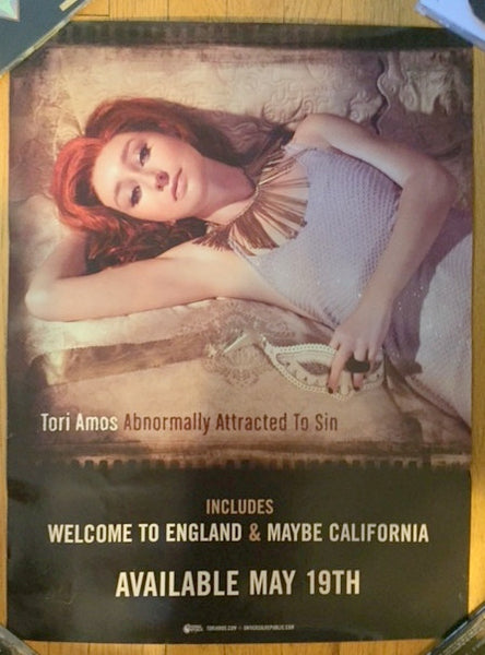 Tori Amos - Promo Poster Normally Attracted to Sin