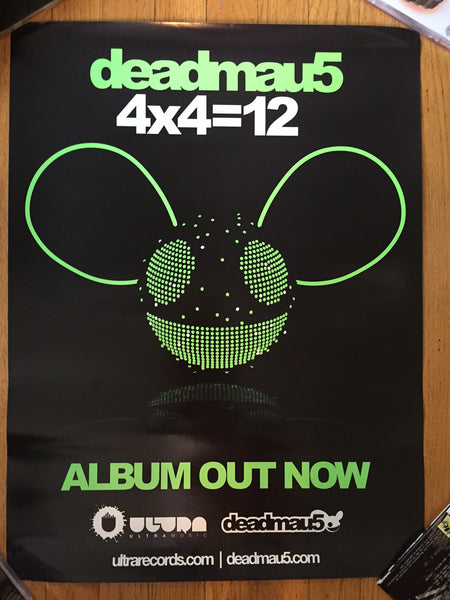deadmau5 Official Promo Poster 4x4=12