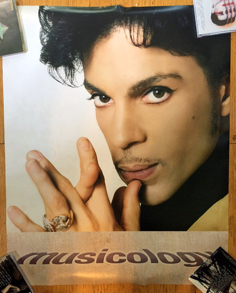 Prince - official promo poster MUSICOLOGY 24x30""
