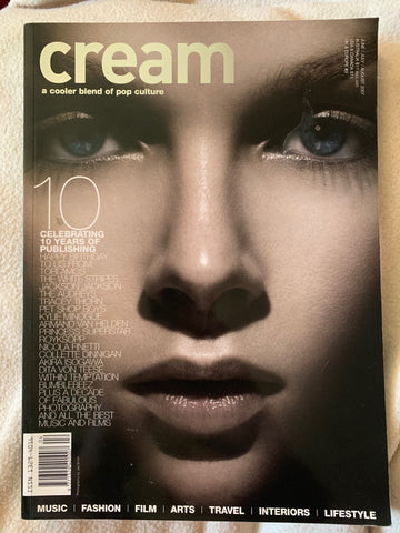 Cream Magazine 2007 (Madonna / Tori Amos) Pop Culture Import Magazine