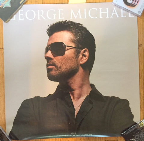 "George Michael -  ""PATIENCE"" U.S. PROMO POSTER 24x24 large"
