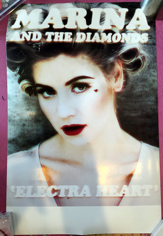 Marina and the Diamonds Promo Poster  Electra Heart
