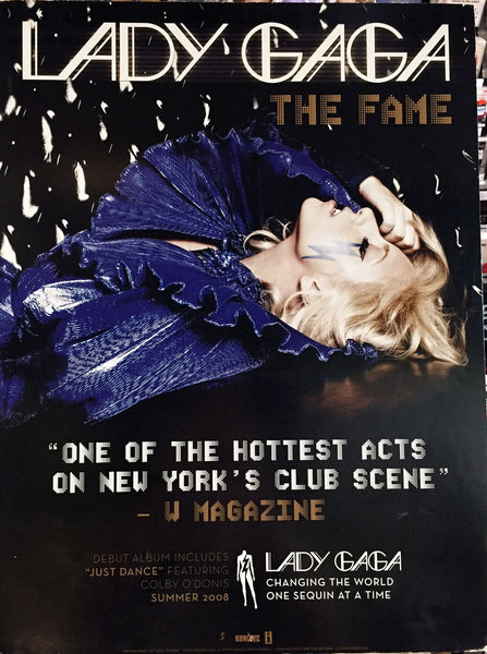 Lady Gaga - Promo poster THE FAME