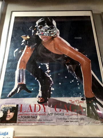 Lady Gaga - Poker Face Promotional poster