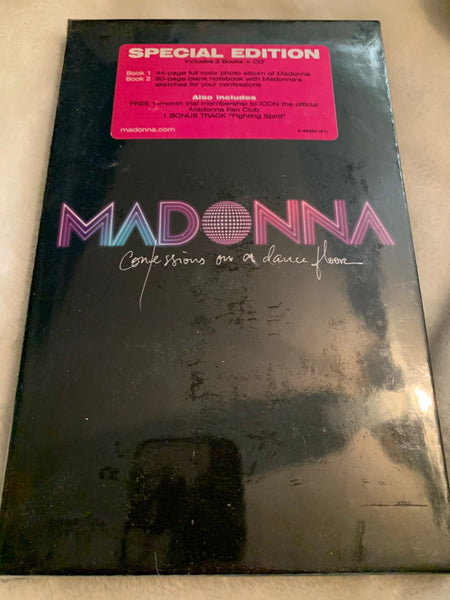 Madonna - Confessions On A Dancefloor LIMITED EDITION Deluxe Long box - New/sealed