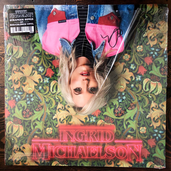 "Ingrid Michaelson - Stranger Songs - New Red-Colored 12"" LP Vinyl - Signed / Autographed"