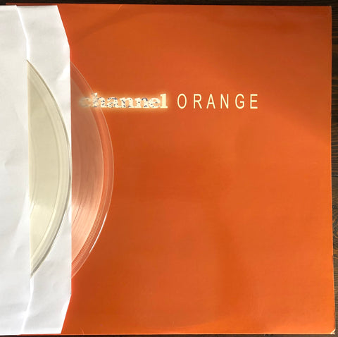 "Frank Ocean ‎- Channel Orange - USED - DBL "" Clear"" 12"" LP Vinyl Import"