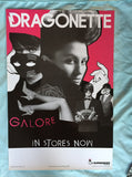 Dragonette - GALORE promotional poster
