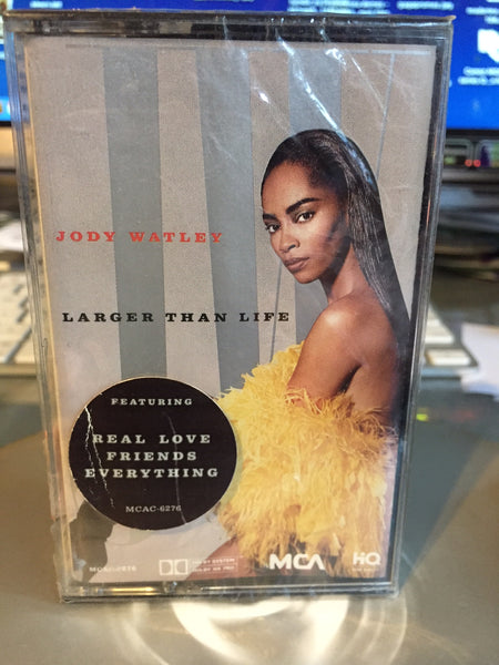 Jody Watley - Larger Than Life (Audio Cassette) NEW / Sealed
