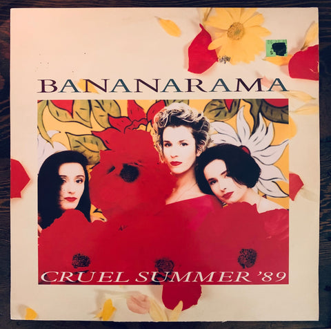 "Bananarama  -Cruel Summer '89  Used 12"" LP Import Vinyl"