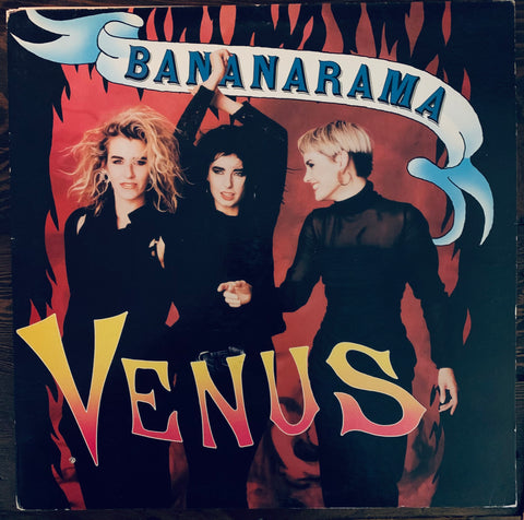 "Bananarama  - VENUS   Used 12"" LP  US Vinyl"