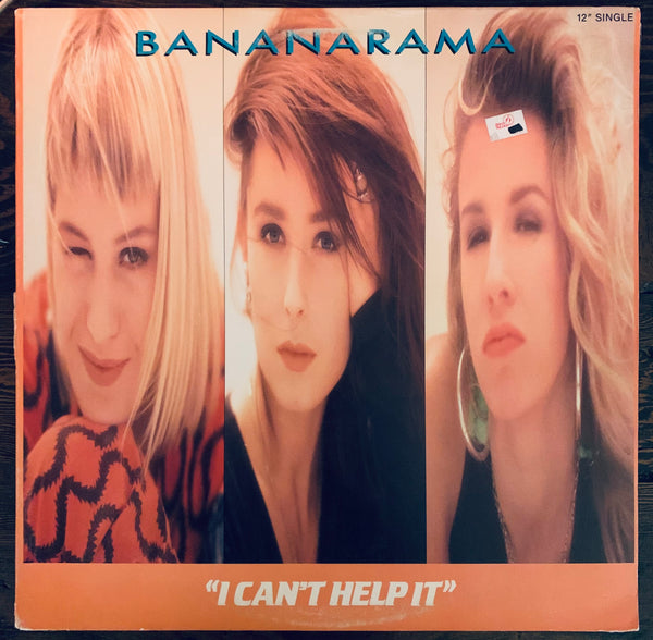 "Bananarama  - I Can't Help It   Used 12"" LP Vinyl"