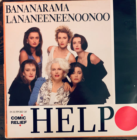 "Bananarama  - HELP   12"" LP Import Used Vinyl"