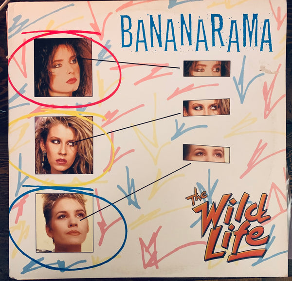 "Bananarama  - The Wild Life  Used 12"" LP Vinyl"