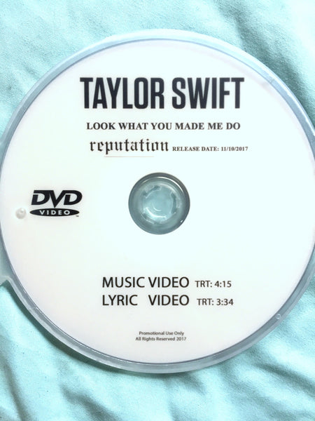 Taylor Swift - Look What You Made Me Do (DVD Single) NTSC