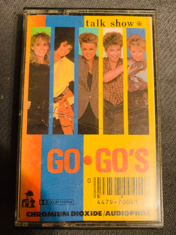 The Go-Go's - TALK SHOW - cassette tape -used