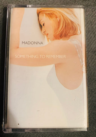 MADONNA - Something To Remember - Ballads Hits 90's Cassette tape - used