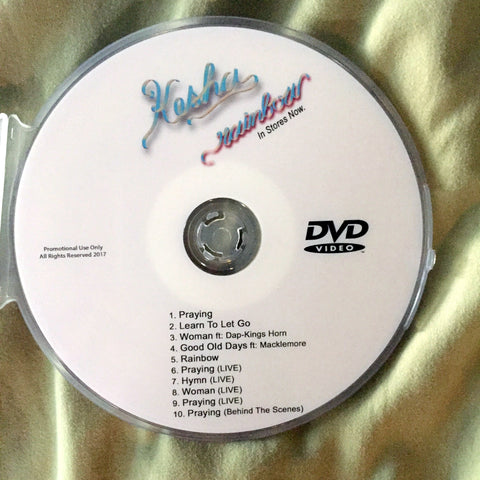 KESHA DVD - Rainbow Videos and LIVE
