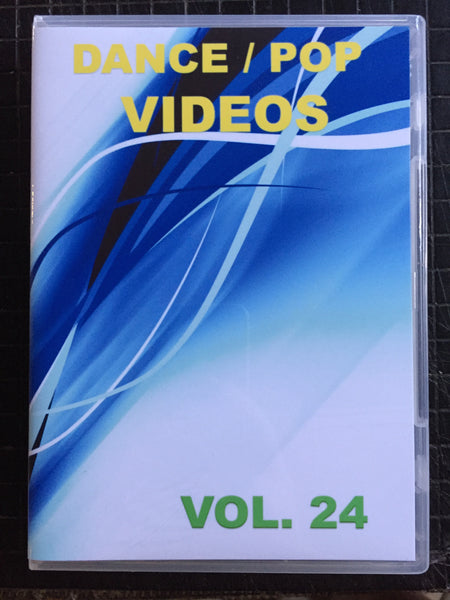 Dance Pop Videos vol.24  DVD (NTSC)