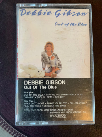 Debbie Gibson - Out Of The Blue - Cassette Tape - Used