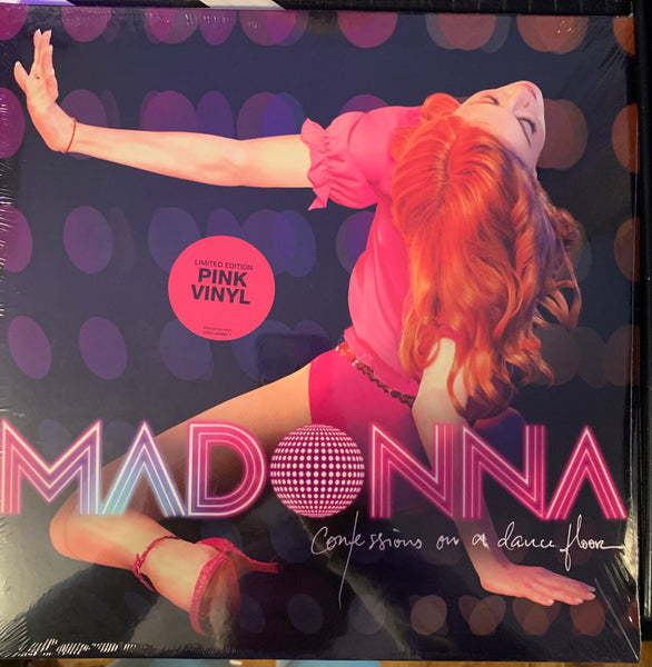 Madonna - Confessions On A Dancefloor - PINK Vinyl LP - New