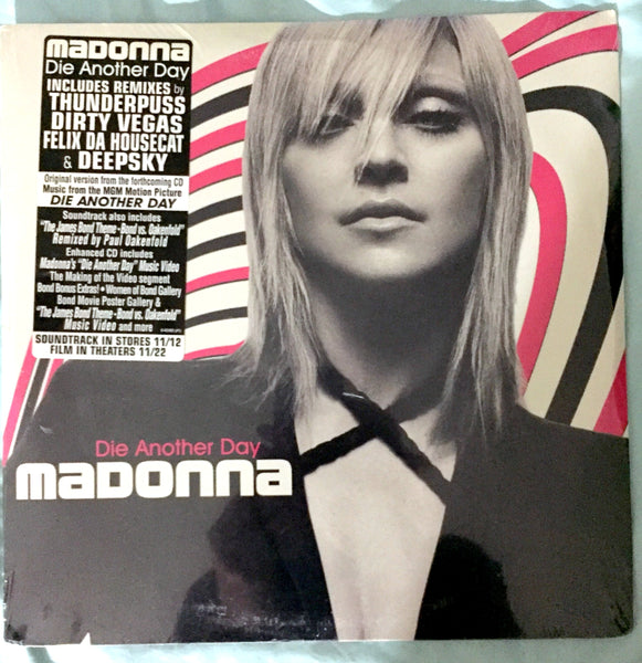 "Madonna - Die Another Day 12"" LP Vinyl Single [New Sealed]"
