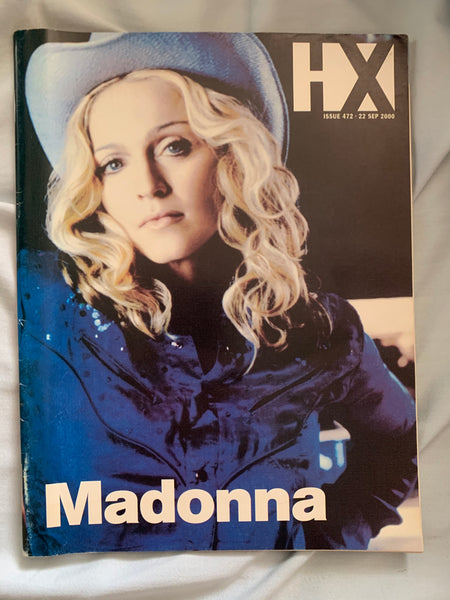Madonna - HX Magazine for MUSIC 2000