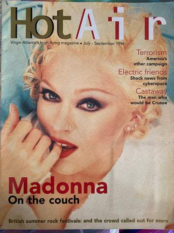 Madonna - HOT AIR Magazine 1996