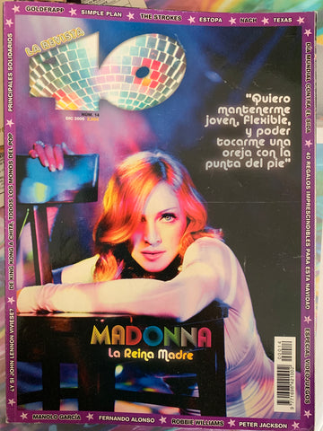 Madonna -La Revista  Import  Magazine 2005